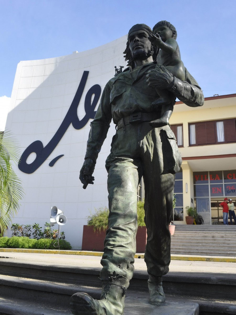 Che Monument in Santa Clara, Cuba. Photo taken by Carolina Vilches.