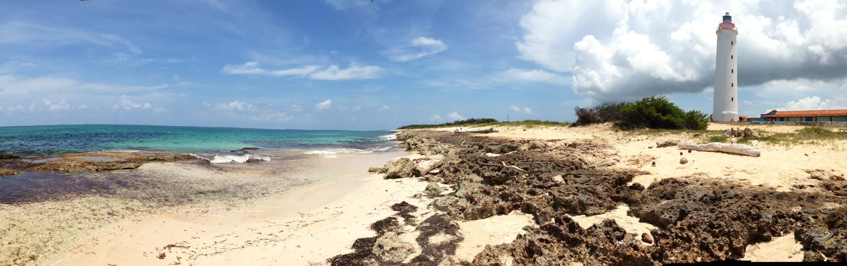 Punta de Maisí en la provincia de Guantánamo, llamada