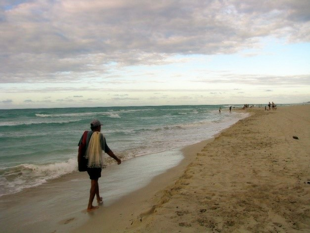 Fisherman in Varadero