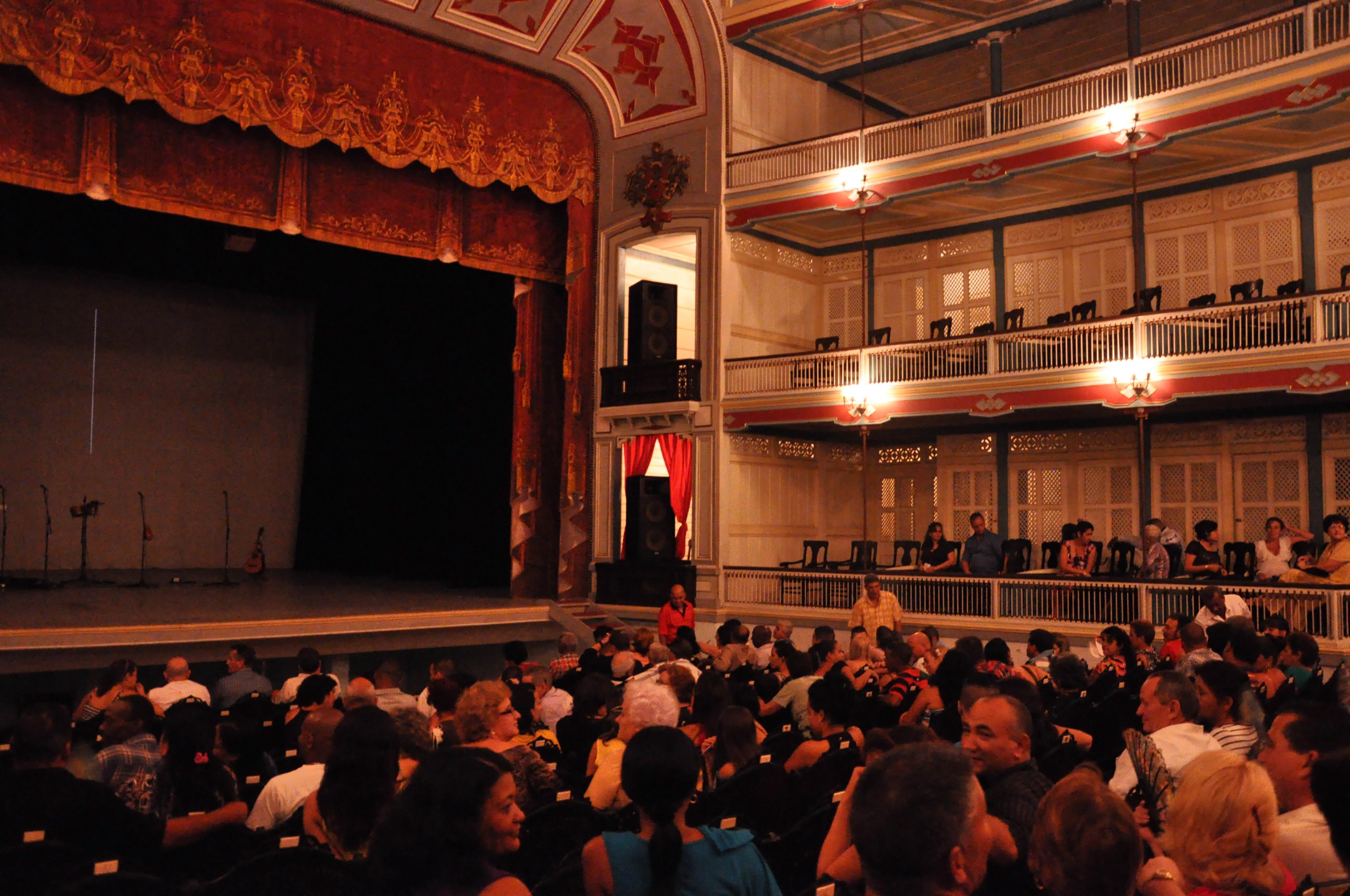 Theatre La Caridad in Santa Clara.